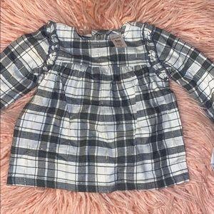 babygirl blouse - 6m